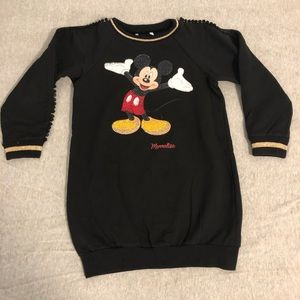 Monnalisa Mickey dress sweater